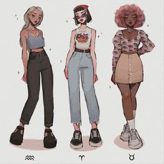 Aesthetic Drawing, Aesthetic Art, Aesthetic Clothes, Cartoon Drawings, Cartoon Art, Cute Drawings, Art Inspiration Drawing, Mode Inspiration, Anime Outfits