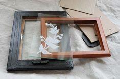 Make It! Secondhand Chic: Super Simple Floating Frames