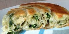 Pita sa domacim korama i tacnim merama ! Bosnian Recipes, Croatian Recipes, Quiches, Baking Bad, Great Recipes, Favorite Recipes, Macedonian Food, Good Food, Yummy Food