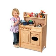 Merveilleux TreeHaus Wooden Play Kitchen   $90