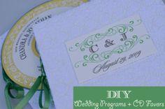 Programmi di nozze fai da te e CD favorisce esercitazione Combinata da Oh Lovely Day
