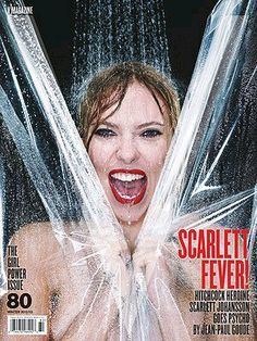 Magazine Covers - V #80 Winter 2012: Scarlett Johansson