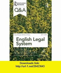 QA English Legal System 2011-2012 (Questions and Answers) (9780415599115) Gary Slapper, David Kelly , ISBN-10: 0415599113  , ISBN-13: 978-0415599115 ,  , tutorials , pdf , ebook , torrent , downloads , rapidshare , filesonic , hotfile , megaupload , fileserve