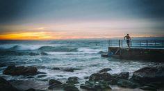🌞 Man Standing Near Sea during Sunset - get this free picture at Avopix.com    📷 https://avopix.com/photo/39749-man-standing-near-sea-during-sunset    #beach #ocean #sea #shore #water #avopix #free #photos #public #domain