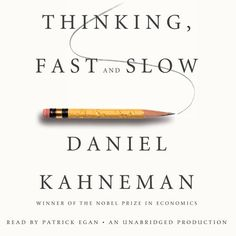 Thinking, Fast and Slow (Unabridged) - Daniel Kahneman | Science...: Thinking, Fast and Slow (Unabridged) - Daniel Kahneman |… #Science