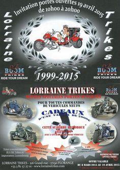 Lorraine Trike Portes ouvertes 2015