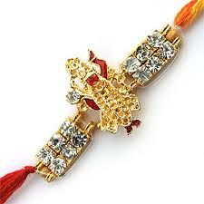 Silver rakhi shows our style statement, send designer silver rakhi to your brother at best price. Giftsforrakhi store has good collection and provides amazing offer on this raksha bandhan.