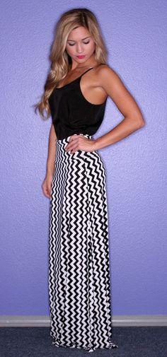 Bright Side Stripe Maxi Skirt - $29.00