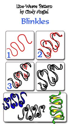 Blinkles-Tangle | You can download this worksheet and see a … | Flickr