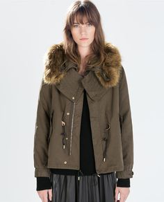 Image 2 of COTTON PARKA from Zara