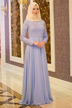 NEVA STYLE - Evening Dress - Baby Blue Evening Dress 4332BM