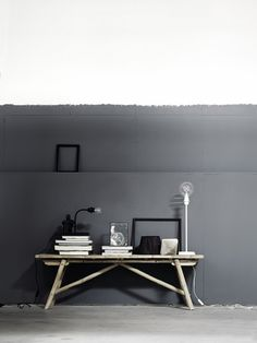 Tine K SS2013 - Half painted wall