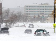 Rapid City, SD in the winter