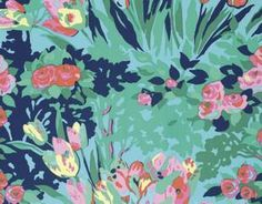 Use this beautiful floral Meadow Blooms fabric from Amy Butler's Violette cotton fabric collection