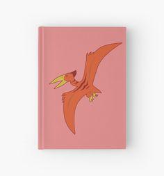 Pteranodon Hardcover Journal #dinosaurs #jurassic #pteranodon #wings #flying