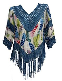 Bonya Women's Sexy Hippie Boho Crochet Hollow Out Blouse ... http://www.amazon.com/dp/B01G7LM2EW/ref=cm_sw_r_pi_dp_BD0rxb0E7DQM7