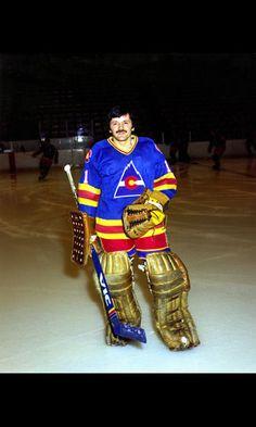 Chico Resch Hockey Goalie, Hockey Players, Ice Hockey, Hockey Rules, Goalie Mask, Good Old Times, Different Sports, New Jersey Devils, Colorado Rockies