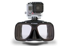 Octomask - Diving mask with GoPro mount