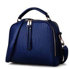 Spring Women Bags Weave Tassel Women PU Leather Handbags Women Shoulder Bag Ladies Casual Women Messenger Bags New BH1150