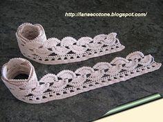 Lana e Cotone (maglia e uncinetto): Trine all'uncinetto