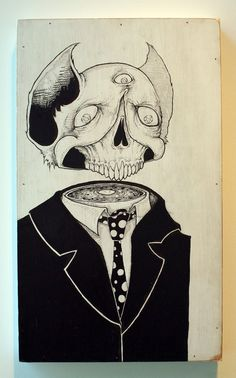 Like A Beer In Deadlights - Dead Men Series by Killer Napkins - Illustration, Drawing, Fine Arts