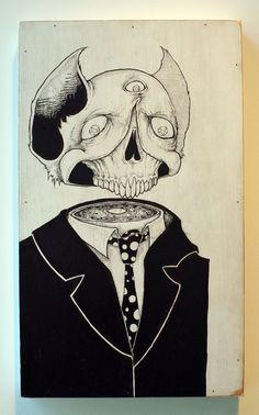 Like A Beer In Deadlights - Dead Men Series by Killer Napkins - Illustration, Drawing, Fine Arts