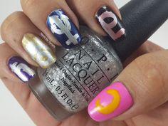 Nails by Tenshi: Felicidad Outer Senshi #NailArt