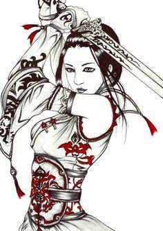 geisha samurai anime - Buscar con Google