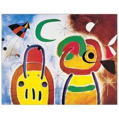 MIRÒ - L'Oiseau au plumage deploy 76x60 cm #artprints #interior #design #Miró Scopri Descrizione e Prezzo http://www.artopweb.com/autori/joan-miro/EC19753