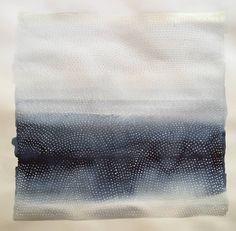 "Saatchi Art Artist Katie Gallery; Painting, ""Indigo sea story, too."" #art"