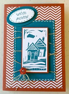 My first try at the new Undefined stamp carving set by Stampin' Up!®