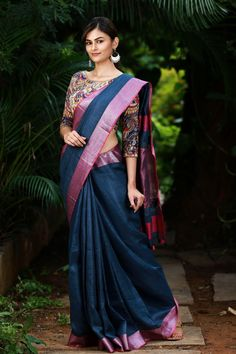 latest saree collections from house of blouse
