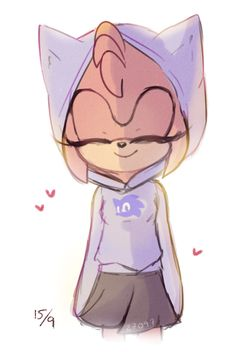 Amy Rose this is my all time fav fan art of her :)