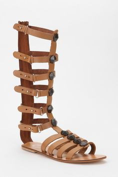 Seriously caged. #urbanoutfitters #sandals #studded