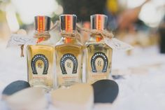 Mini Patron Place Cards For Wedding 1 Day Pinterest Card Favors And