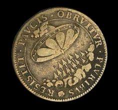 Een munt uit 1680 met daarop een afbeelding van een UFO stelt experts al decennia lang voor een raadsel. Volgens Kenneth Breset, voormalig voorzitter van het Amerikaanse Genootschap voor Munt- en P...