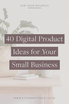 Here's 40 digital product ideas for your small business to start selling online and making passive income | Online Business Tips, Online Business, Build and Online Business, Freelance, Make Money Online, Work From Home, Work at Home, Freelance Tips, Solop