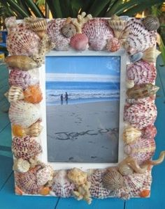 Craft Project Ideas with Shells, Sea Glass, Rocks and more