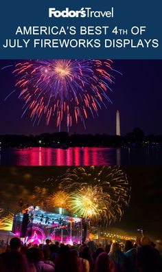 From Seattle to Miami, we're showing you where to see America's most epic fireworks this year! #FourthofJuly #Fireworks