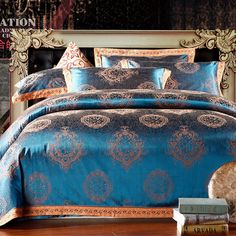 Cheap jacquard sheet set, Buy Quality sheet metal punching machine directly from China jacquard Suppliers: 2014 NEW Hot !!!Free Shipping 58 Types Luxury Satin Silk Jacquard 4PCS BEDDING SETS king Queen size bed sheets velvet be