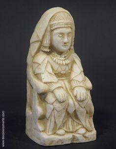 Dama sedente ibérica (alt: 18 cm)