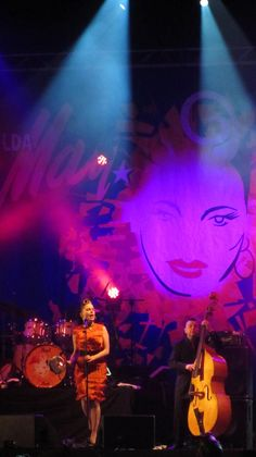 NYE Dublin Festival at College Green on 31st December. Imelda May takes the stage