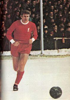 Circa 1969. Liverpool and England striker Roger Hunt.
