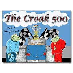 The Croak 500 -postcard