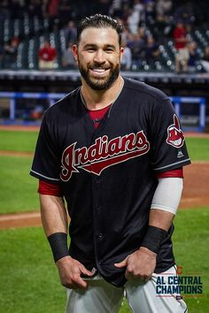Cleveland Indians Jason Kipnis after hitting a walk-off Grand Slam in the against the Chicago White Sox at Progressive Field. Indians won This was Kip's career hit. Cute Baseball Players, Baseball Scores, Baseball Uniforms, Baseball Pants, Baseball Field, Fsu Baseball Schedule, Baseball Savings, Baseball Equipment, Cleveland Team