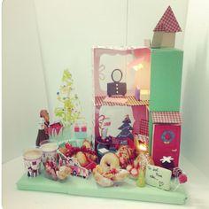 Santa's GIFT Today #Christmas #Greeting #christmasbreakfast ... I love our #new Double Floor #breakfast#doorBiscuit#RedDoor#Cookies#chistmashouse#santa#christmasgift #Dolls#Chococale#croissant#muffin#sfogliatella#funny#redDoor#Biscuit#sofacupcakes #cupcakes#cornetto#ballerina#MashmellowTree#Smarties#colazione#sessaspecialeventandcakes #sessaartigianidelgusto