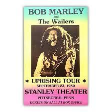 """Résultat de recherche d'images pour """"affiche de concert bob marley"""""""