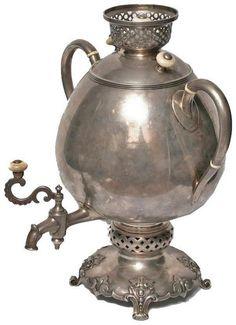 "Photo from album ""Самовар_samovar"" on Yandex. Antique Shelves, Tea Culture, Metal Containers, Art Nouveau Design, Tea Art, How To Make Tea, Tea Time, Vintage Antiques, Glass Art"