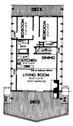 easy build floor plan