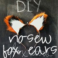 DIY fox ears